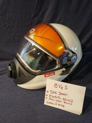 BV2S snowmobile helmet with heated shield for Sale in Nanticoke, PA
