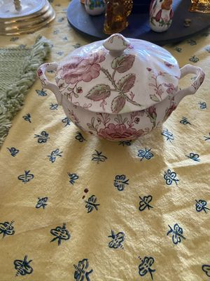 Johnson Brothers Fine China Rose Chintz Sugar Bowl for Sale in Suffolk, VA