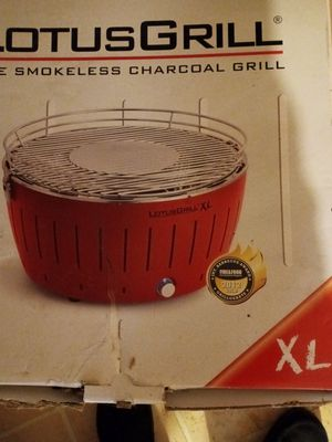 Lotus smokeless charcoal grill for Sale in Quincy, IL