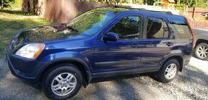 2003 Honda CRV EX AWD Blue Automatic 2.4l for Sale in SKOK, WA