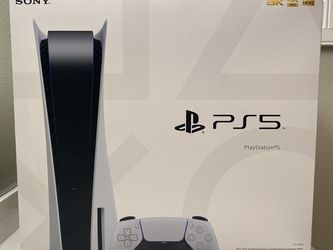 Sony PlayStation 5 PS5 Blu-Ray Disc Edition Console for Sale in Downey, CA
