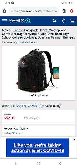Backpacks with usb port for Sale in El Monte, CA