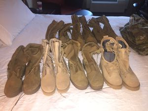Military style boots (brand new) $70 each for Sale in Fort Belvoir, VA