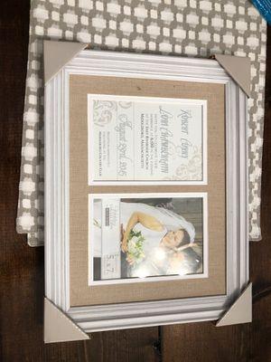 Malden 2-Opening Wedding Invitation Frame 5x7 for Sale in Bridgeville, PA