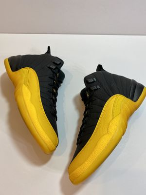 "Jordan 12 ""BLK/University Gold"" size 4.5Y for Sale in Salem, OR"