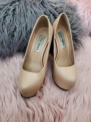 Beige Steve Madden Heels size 5.5 M for Sale in Chino, CA