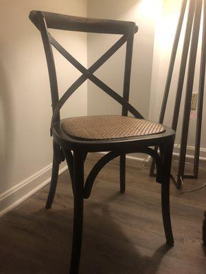 Black kitchen chairs for Sale in Alexandria, VA