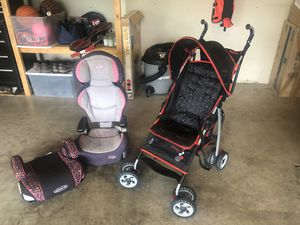 Booster seats and stroller for Sale in Elk River, MN