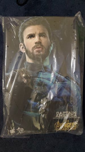 Hot toys mms480 infinity war captain america. for Sale in Fontana, CA