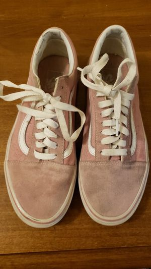 Womans pink VANSl for Sale in Janesville, WI