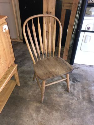 Wooden Chair for Sale in Magnolia, TX