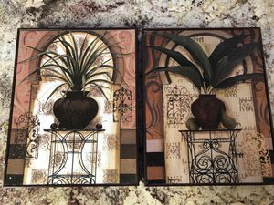Decorative Pictures-tropical (2) for Sale in NO POTOMAC, MD