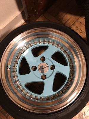 Rims 15x8 4 x100 for Sale in Syracuse, NY