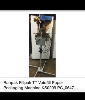 Packing machine KS0209 PC-0647 Ranpak Fillpak TT voidfill paper like new never used for Sale in Corona, CA