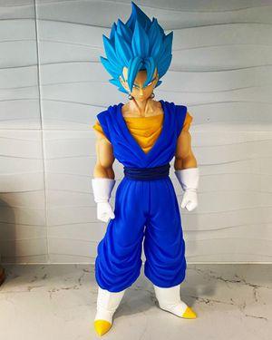 "GIANT 15"" RARE* SSJ BLUE VEGITO GOGETA SUPER FIGURE DRAGON BALL Z (VERY TALL!) DBZ DBS for Sale in Miami Beach, FL"