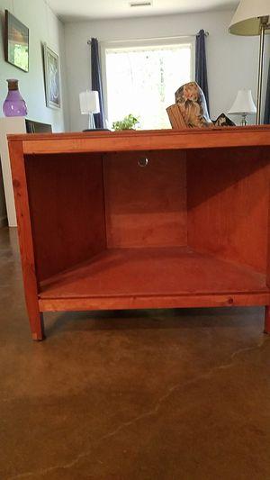Table. Shelf. TV. Corner Unit for Sale in Chapel Hill, NC