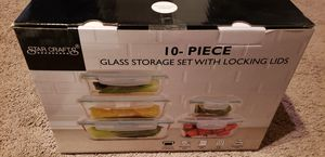 Starcrafts 1122S Glass Storage Container Set 10 Piece for Sale in Farmington Hills, MI