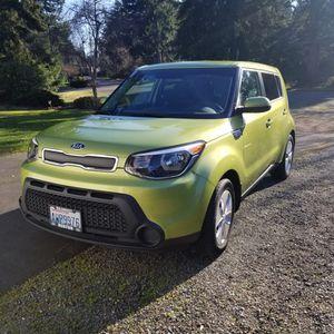 2015 Alien Green KIA Soul With Low Miles for Sale in Auburn, WA