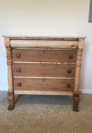 "Dresser natural wood 42"" tall 43x20 for Sale in Leesburg, VA"