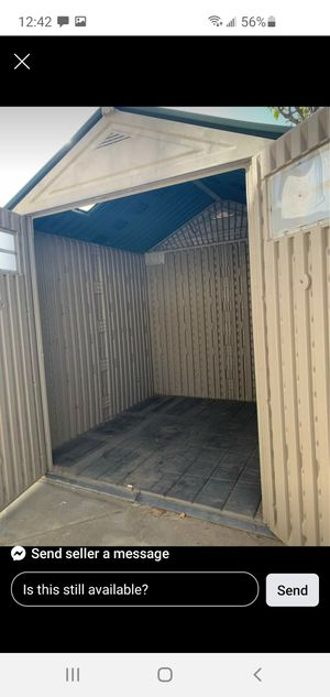 Plastic Rubbermaid Shed! for Sale in San Gabriel, CA