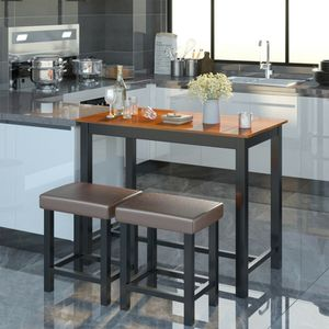 3 Piece Set Pub Dining Table with Stools - Perfect for Your Home Kitchen for Sale in Los Angeles, CA