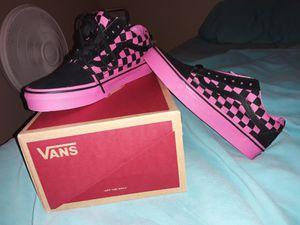 Black and Pink Vans for Sale in San Antonio, TX