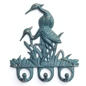 "LAST ONE! NEW! 7 1/2"" Crane/Heron Wall Hook Birds for Sale in Miami, FL"