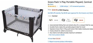 Play Portable Playard, Mattress Topper, and Crib Protector for Sale in Grand Island, NY