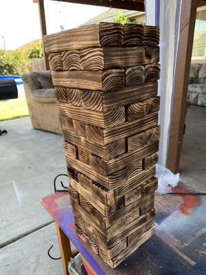 Custom made Giant Jenga wood puzzle game for Sale in Santee, CA
