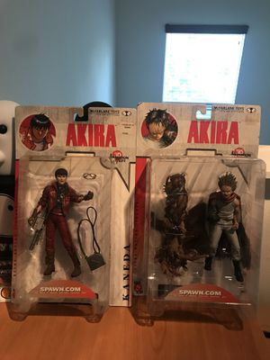 Akira action figures Todd McFarlane local pick up discount for Sale in Anaheim, CA