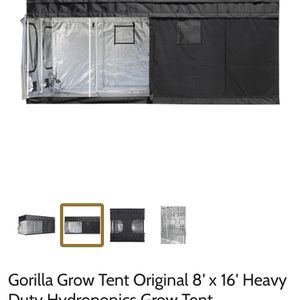 Gorilla Grow Tent 8' X 16' for Sale in Antioch, CA