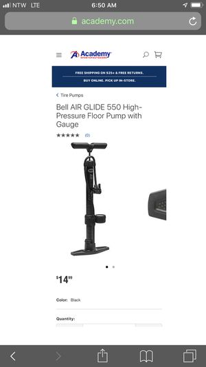 Bell brand Bycicle Tire Pump for Sale in Salina, KS