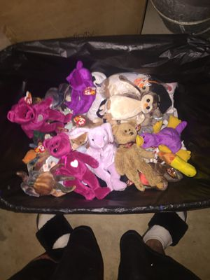 Rare Error Only Beanie Baby's. for Sale in Roswell, GA