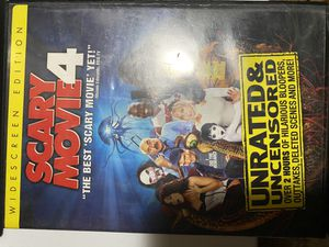 Scary Movie 4 DVD for Sale in Taylor, MI