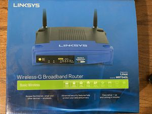 Linksys Wireless G Router for Sale in Newport Beach, CA