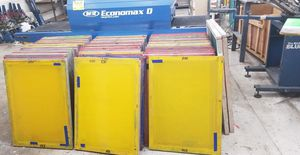 Screens for screen printing -excellent condition for Sale in Los Angeles, CA