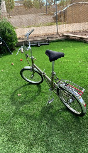 """VNAGE FOLD IUP BIKE MADE IN ENGLAND 20"""" inch rims 3 speed for Sale in Mesa, AZ"""