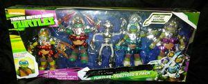 Nickelodeon TMNT Metal Mutants Action Figures 5-Pack for Sale in San Diego, CA