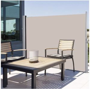 New in box costway Outdoor Patio Retractable Folding Side Screen Awning for shade and privacy for Sale in Pico Rivera, CA