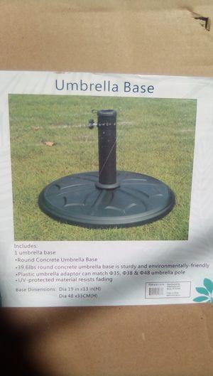 Umbrella base for Sale in Monterey Park, CA