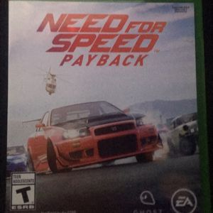 Need For Speed Payback (Xbox One) for Sale in Bakersfield, CA
