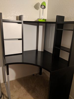 Brown Ikea Desk for Sale in HUNTINGTN BCH, CA