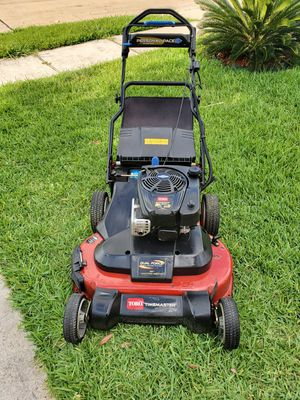 """30"""" Toro Time master lawnmower with bag for Sale in Channelview, TX"""