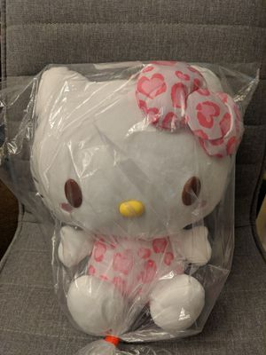 NEW Sanrio Hello Kitty Pink Leapord Plush from Japan for Sale in San Jose, CA