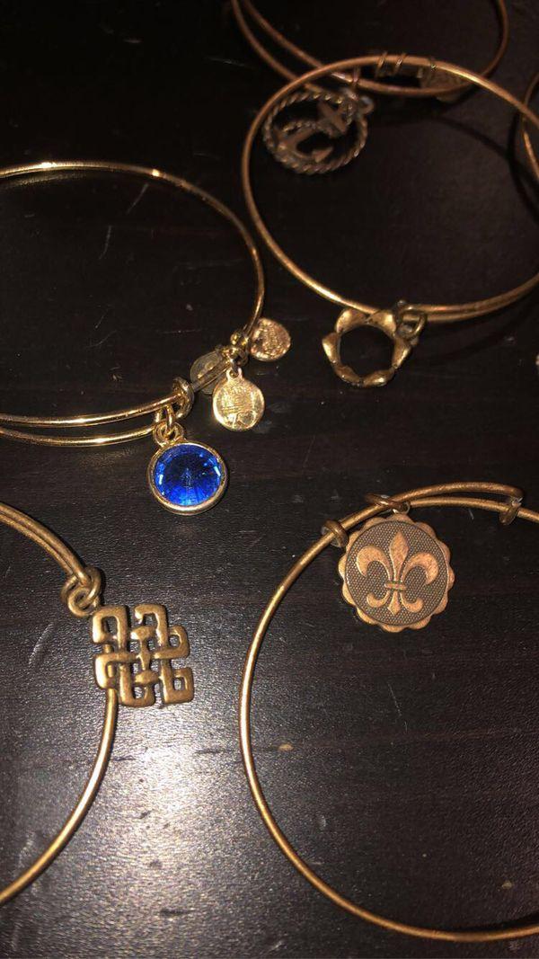 14 Alex and Ani Charm Bracelets/Bangles