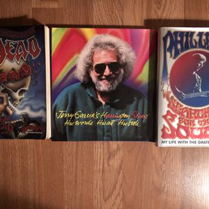 Selection Of Grateful Dead Books & Collectible Magazine for Sale in San Carlos, CA