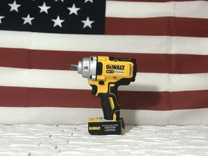 DEWALT 20v XR CORDLESS 1/2in IMPACT WRENCH MID TORQUE TOOL ONLY for Sale in San Bernardino, CA