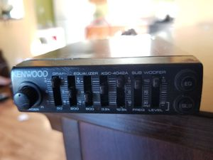 Kenwood eq for Sale in Los Angeles, CA