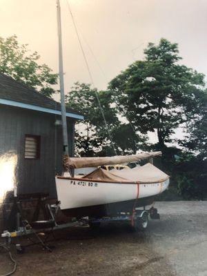 Sailboat / Catboat ... 1991 Marshall Marine Sandpiper for Sale in Framingham, MA