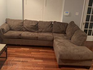 Two piece sectional sofa / couch for Sale in Philadelphia, PA